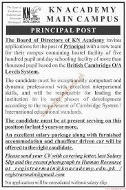 Chauffeur Resume Kn Academy Main Campus Jobs Dawn Jobs Ads 10 January 2016 Paperpk