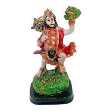 multicolour hindu god hanuman idol lord mahavir statue bajrangbali