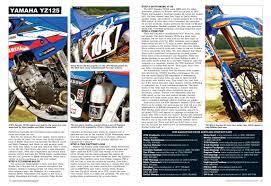 motocross action online mxa yz125 jay clark enterprises