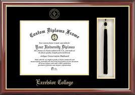 college degree frames excelsior college diploma frames certificate framing ec graduation