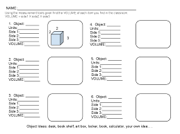 ideas of volume area and perimeter worksheets about format layout