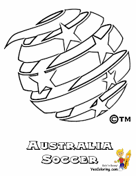 australia national socceroos coloringpage coloring pages