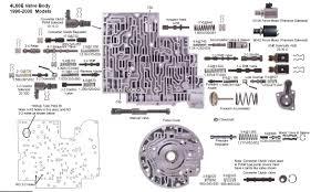 4l60e shift solenoid 4l60e valve body 4l60e vb jpg my