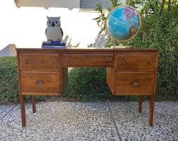 Mid Century Modern Desk For Sale Mid Century Modern Desks Desk Etsy Onsingularity