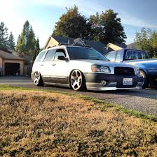 subaru forester stance forester