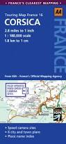 Italy Road Map road map corsica aa touring map france 16 amazon co uk aa