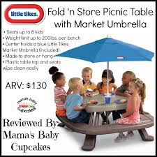 simple little tikes fold n store picnic table 61 for your hme
