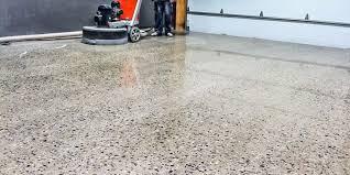 concrete floor polishing industrial commercial mclean flooring