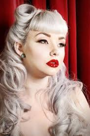 easy vintage hairstyles pin up hairstyles for long hair girl vintage rockabilly women