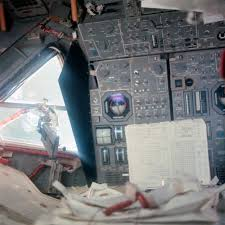 Lunar Module Interior Interior View Of Apollo 11 Lunar Module Showing Displays And