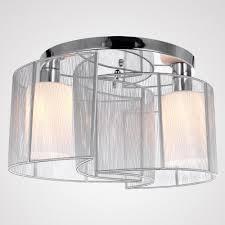 chrome flush mount light lightinthebox 2 light semi flush mount ceiling light fixture with