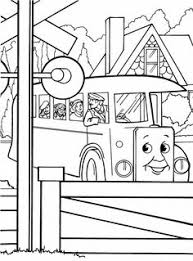 thomas friends coloring pages kids