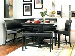 leather corner bench dining table set corner bench set modern leather corner bench set corner bench set