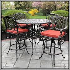 Bistro Patio Table And Chairs Set Bar Height Patio Set Walmart Patios Home Decorating Ideas