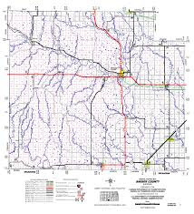Oklahoma Counties Map Kansas Department Of Transportation Quarter Inch Scale County Maps