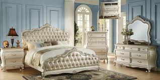 Traditional Bedroom - chantelle bedroom white by acme