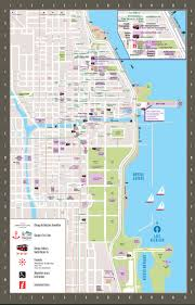 Chicago Magnificent Mile Hotels Map by Magnificent Mile Chicago Map Pictures To Pin On Pinterest Pinsdaddy