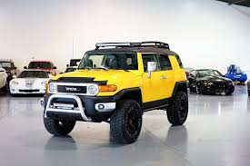 fj cruiser davis autosports brand new toyota fj cruiser build it has is all