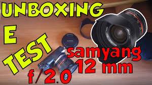 sony a5100 black friday samyang 12mm f 2 0 grandangolare e luminoso unboxing e test w