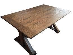 expanding table plans extending fixed trestle table plans u2013 mccauley u0027s design