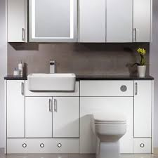 White Gloss Bathroom Furniture Vetro White Gloss Fitted Bathroom Furniture Roper For