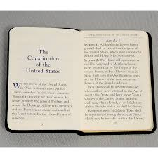 mini united states constitution book palm sized for the patriot