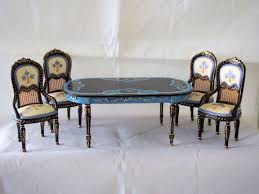 horizon miniature dollhouse dining room set hanson 8019