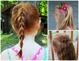 easy hairstyles for school with pictures easy girls hairstyles school girl hairstyles for long hair 3 easy
