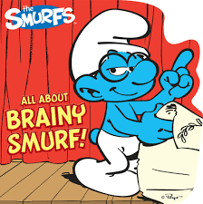 brainy smurf book peyo official publisher