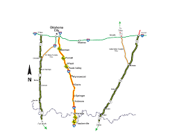 I 35 Map I 35 South Map Images Reverse Search