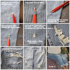 diy ripped jeans 001 jpg 1 200 1 200 pixels diy pinterest