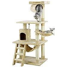 cat tree beige cat tower pet supplies