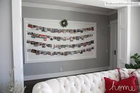 christmas card display ideas christmas lights decoration