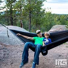 double camping hammock with 2 free bonus hanging tree straps and