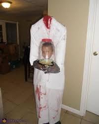 Halloween Costume Headless Man Holding Head Headless Man Costume Halloween Costume Contest Costume Contest