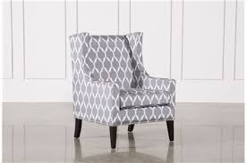 Gray Armchair Accent Chairs With Arms U0026 Armless Living Spaces
