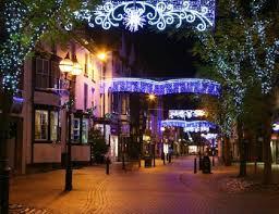 town centre festive lighting christmas lighting from christmas