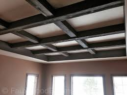 coffered ceiling ideas faux coffered ceiling pictures beautiful ideas for flat ceilings
