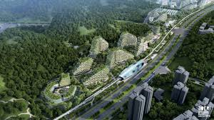 of china tree a city covered in trees will fight air pollution in china