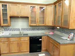 Natural American Maple Shaker Kitchen Cabinets Sienna Shaker - Kitchen cabinet australia