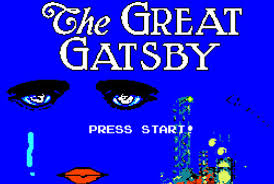 the great gatsby as a 1987 nintendo game mental floss