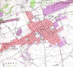 Pennsylvania Cities Map by 1up Travel Maps Of Pennsylvania Palmyra Topographic Map