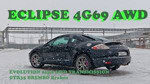 mitsubishi eclipse 4g gs 2 4 awd swap engine 4g69 evolution