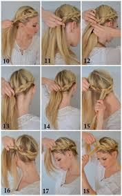 easiest type of diy hair braiding 16 easy diy tutorials for glamorous and cute hairstyle diy