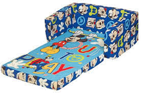 Mickey Mouse Sofa Bed by Disney Princess Flip Open Sofa Leather Sectional Sofa