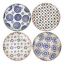 buy pols potten mosaic plates set of 4 amara