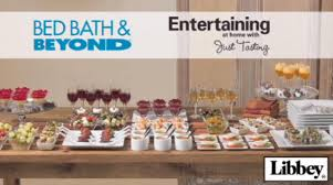 bed bath u0026 beyond tv watch entertaining at home with just