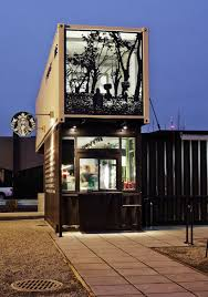 most beautiful houses made from shipping containers starbucks