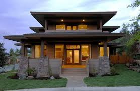 prairie style houses collection modern prairie style house plans photos the