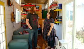 tiny house family living with 3 kids in 365 square feet